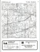 Map Image 020, Kenosha and Racine Counties 1986